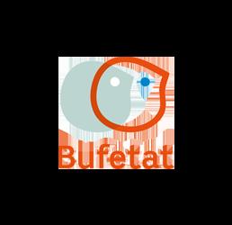 Logoen til Bufetat