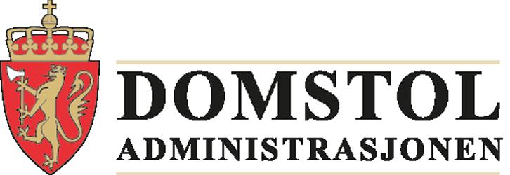 Logoen til Domstoladministrasjonen