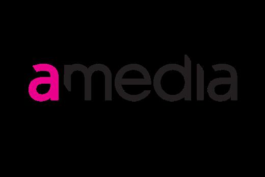 Logoen til Amedia